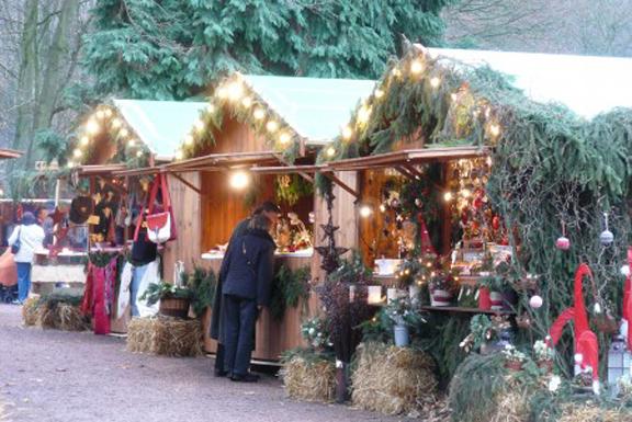Modelle Weihnachtsmarkt
