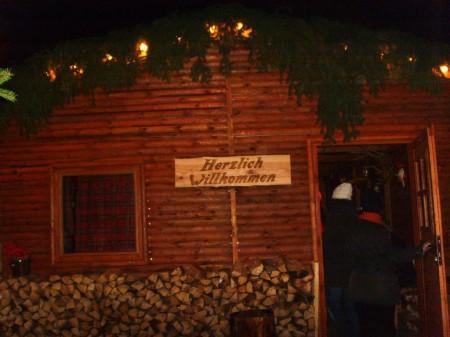 Weihnachtsmarkthaus