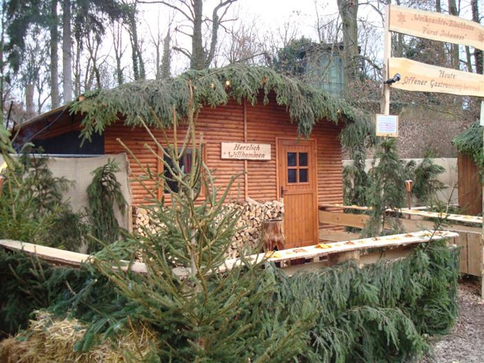 Weihnachtsmarkthäuser