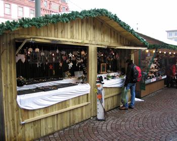 Weihnachtsmarktbude Darmstadt