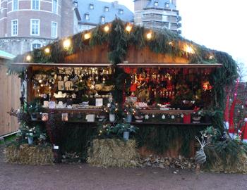 Weihnachtshütte Merode Aachen