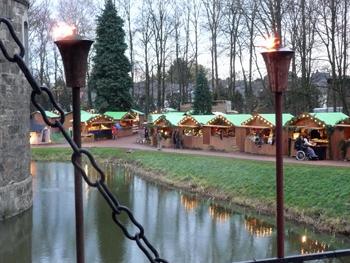 Weihnachthütten Merode Aachen