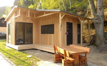 Hochwertige Holzhütten