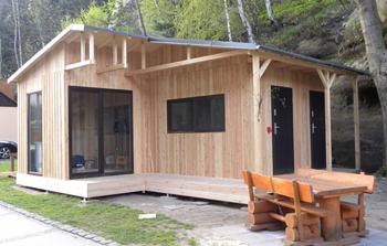 Holzhütte nach Wunsch
